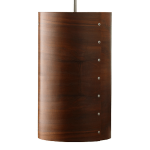 timber veneer pendant shade