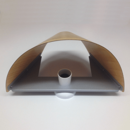 Veneer Wall Light attached to batten as supplied