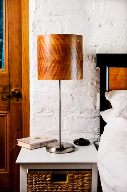 Axiom Timber Veneer Table Lamp in Myrtle