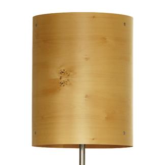 Axiom Timber Veneer Floor Lamp in Huon Pine