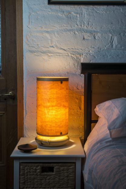 Side Lamp in Huon Pine