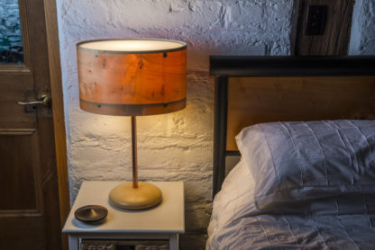 Axiom Ellipse Lamp in Huon Pine
