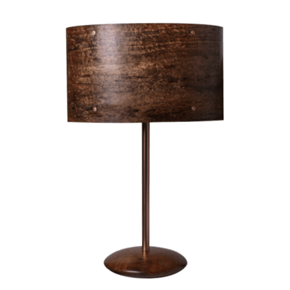 Elipse Table Lamp in Blackwood